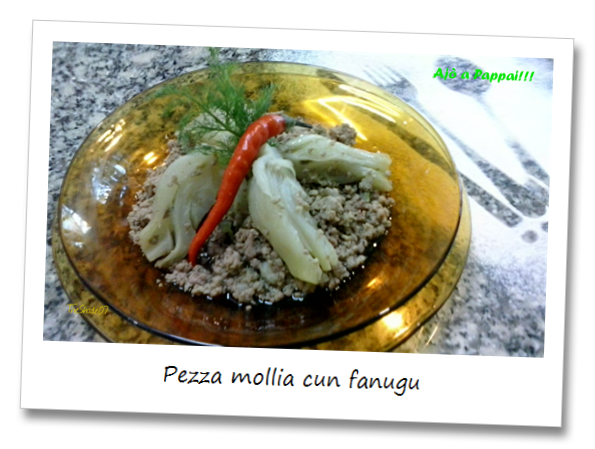 Fotografia della ricetta pezza mollia cun fanugu