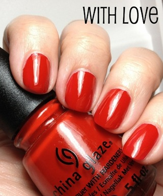 China Glaze With Love