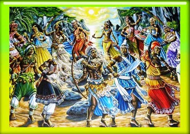 todos orixás - orishas - orisas - orichas - inkisses - inkices - vodun - imolé da mitologia yoruba - africa - candomble - umbanda - exu - oxala completo