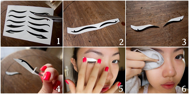 Tutorial Eyeliner Sticker