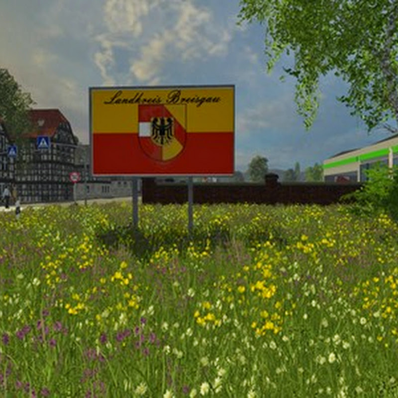 Farming simulator 2015 - District of Breisgau v 1.9a