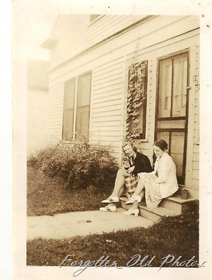 Helen Danhiem and myself 1938