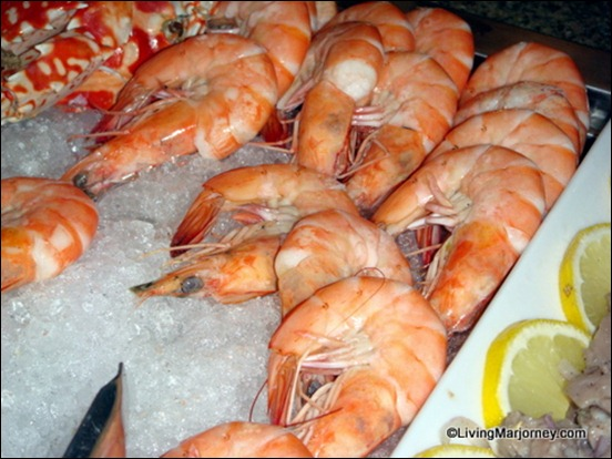 Acaci Buffet: Crustacean Selection