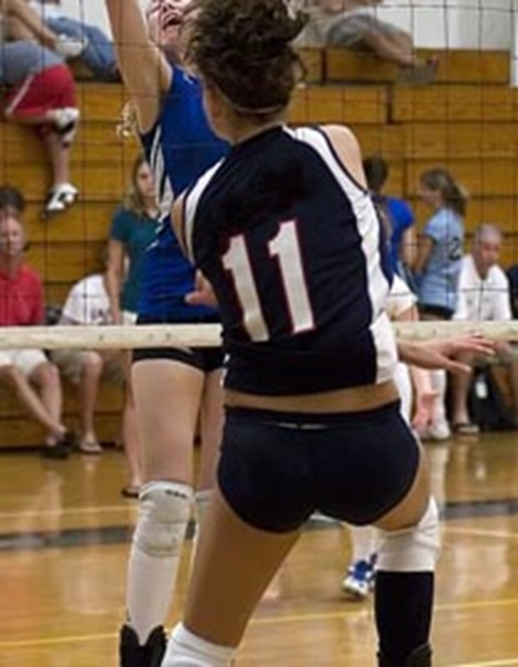 Volleyball Girls in Action4