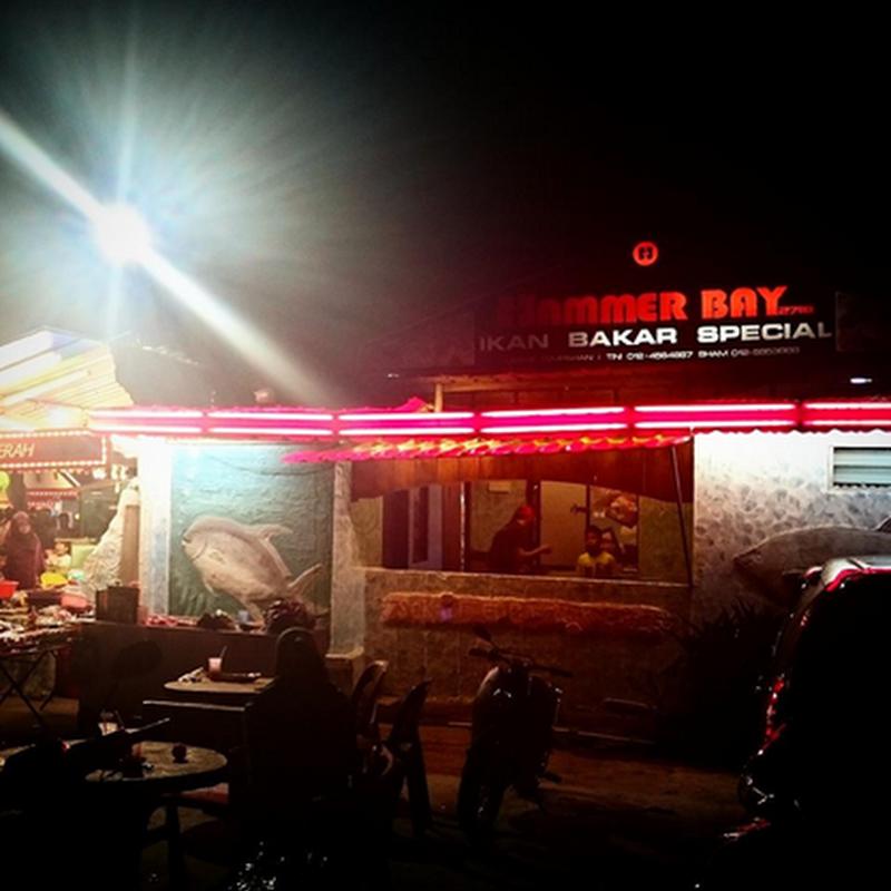 Makan sedap di Pulau Pinang :  Hammer Bay !