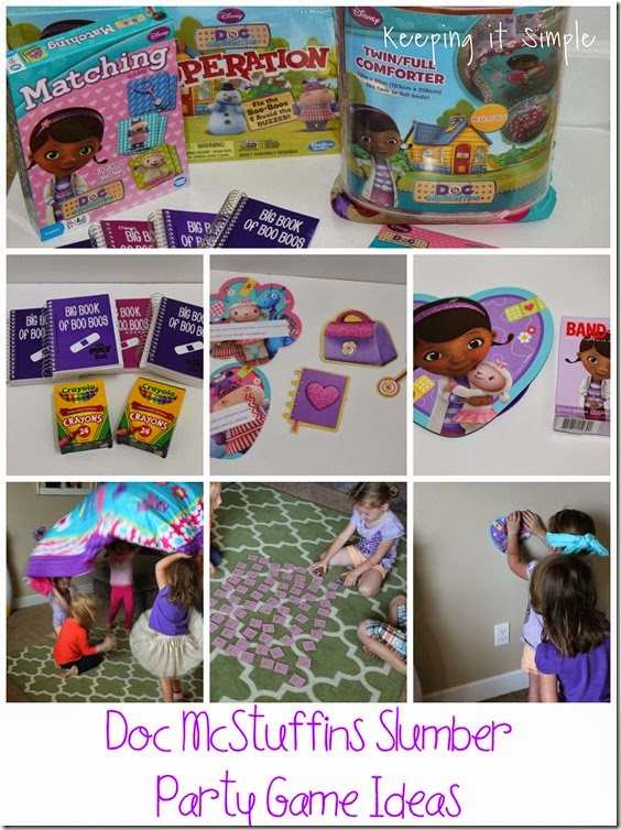 #shop Doc-McStuffins-Slumber-Party-Game-Ideas #JuniorCelebrates