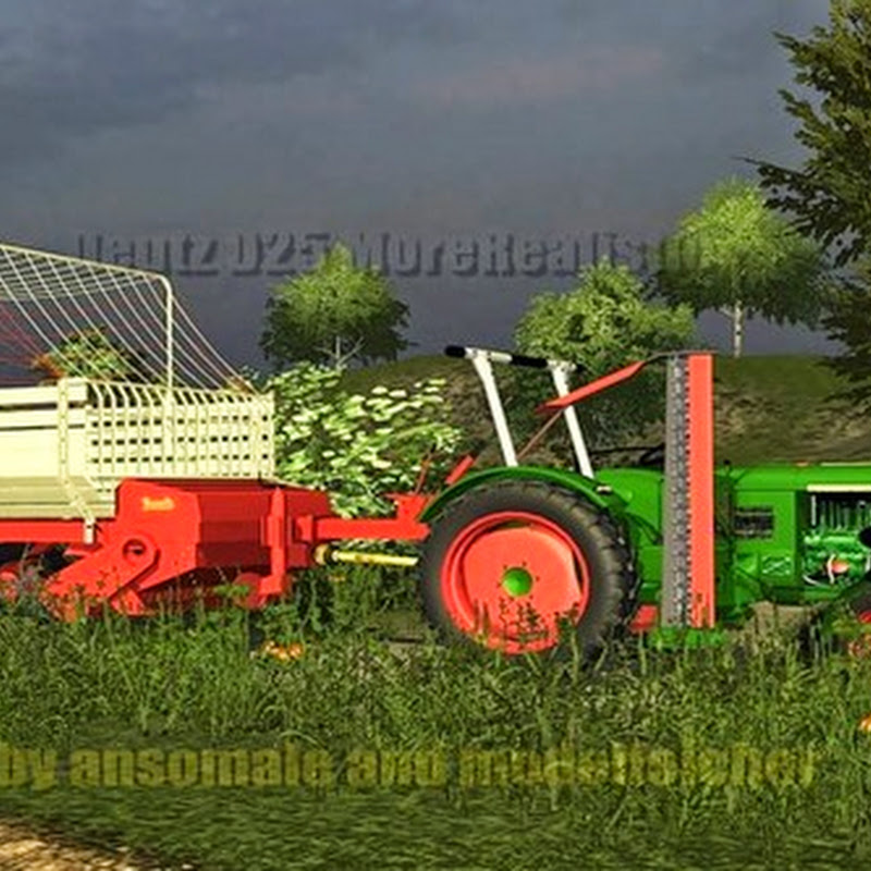 Farming simulator 2013- Deutz D25 with cutter bar v 2.0