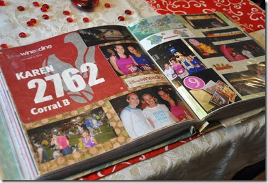 Running Race Scrapbooks 4