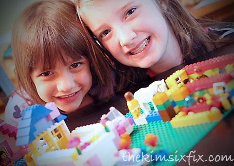 Kids love Legos