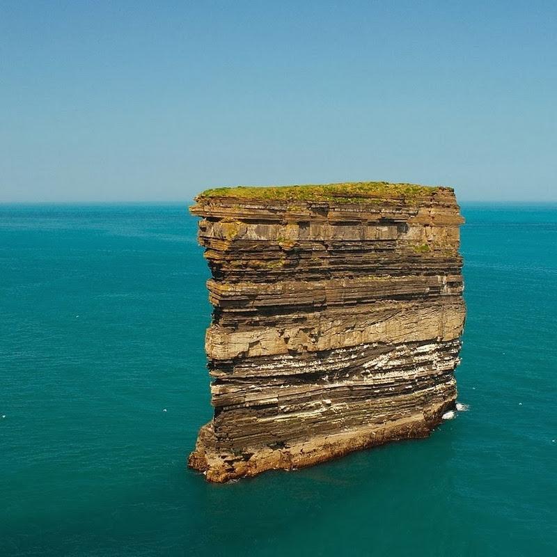 Dun Briste, an Impressive Sea Stack at Downpatrick Head