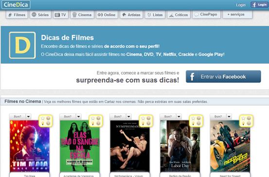 CineDica - Página inicial