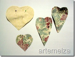 anjinho 4 corações