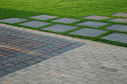 Natural Stone Paving work at The Mango Tree