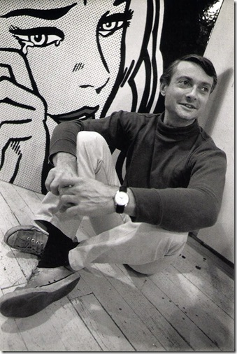 Dennis Hopper. Courtesy Tony Shafrazi Gallery. Roy Lichtenstein.