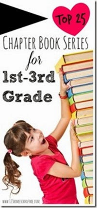 Top 25 Chapter Book Series for 1st, 2nd, and 3rd Grade #reading #bookrecommendations #homeschool #education