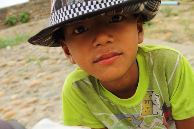 A kid from Myitkyina, Myanmar