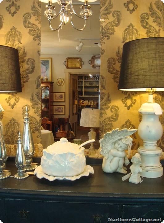 seriously stylish foyer {Northern Cottage}
