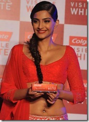 Sonam Kapoor Latest Hot Navel Show Photos, Sonam Kapoor Hot Cleavage Show Pictures