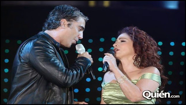 Gloria Estefan y Alejandro Fernández - En el jardín
