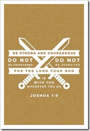 Be strong with God