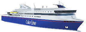 Norway's Color Line says that its new 525-foot LNG ferry, with capacity for some 2000 people and 500 cars, will be ready for the summer 2014 season on the Norway-Sweden Sandefjord-Strømstad route.