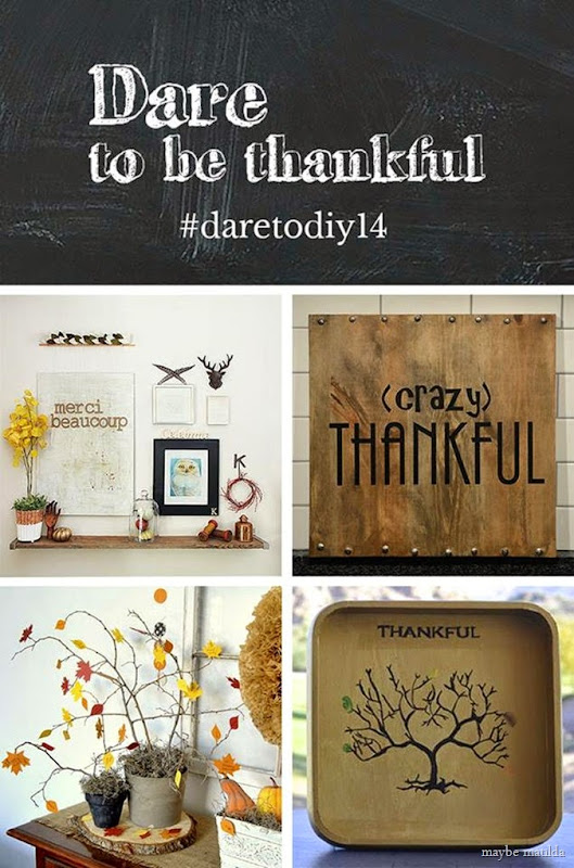 Dare to be Thankful projects