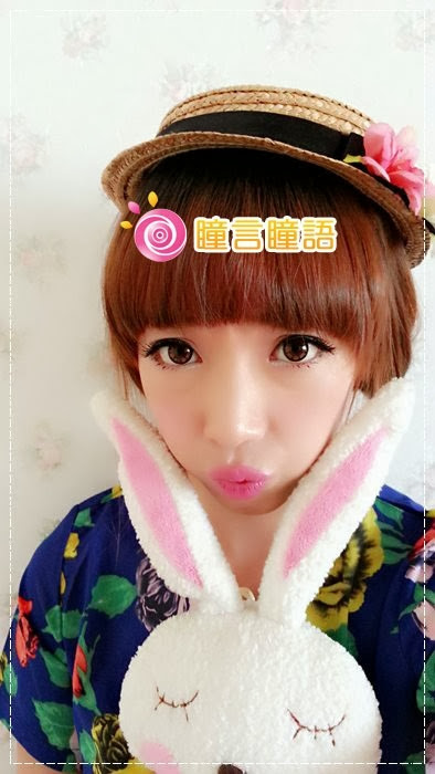 韓國GEO隱形眼鏡-GEO Holicat 荷麗貓迷萌咖(Cuite Cat)14