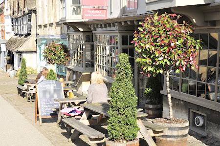 Imagini Anglia: cafenea in Oxford