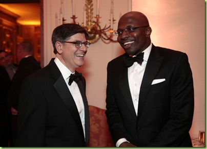 jack lew and reggie love