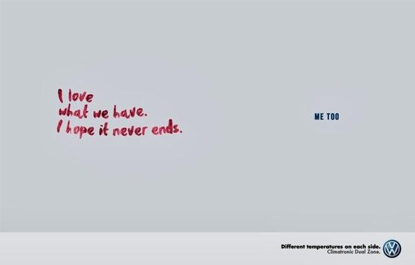 Creatividad publicitaria vw3