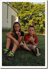 sage and john with smores_thumb[1]