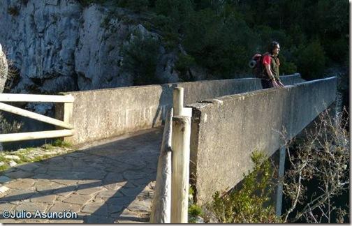 Puente sobre el Salazar