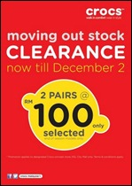 Crocs Moving Out Stock Clearance Branded Shopping Save Money EverydayOnSales