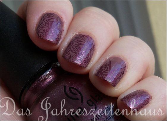 Nageldesign Violett Auf Violett Das Jahreszeitenhaus