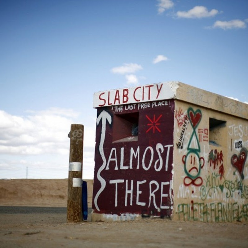 Slab City, California: A Home for the Homeless