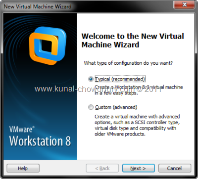 3. Create New Virtual Machine
