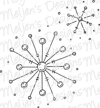 Meljens Designs Snowflakes