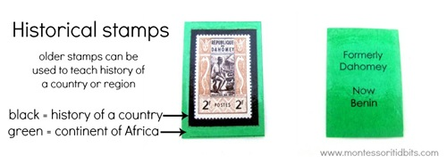 historical stamps edited