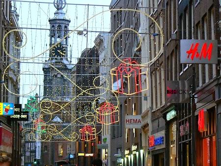 Strada pietonala Amsterdam