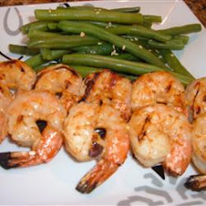 Skewered Shrimp