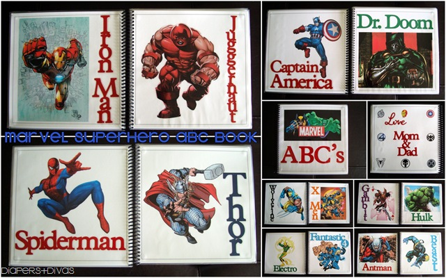 Marvel ABC Book