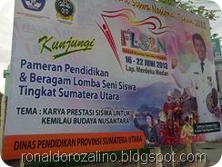 SMAN PINTAR IKUTI FLS2N TINGKAT NASIONAL DI MEDAN DI IKUTI 33 PROVINSI INDONESIA 2013 1