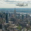 Enterprise over NYC