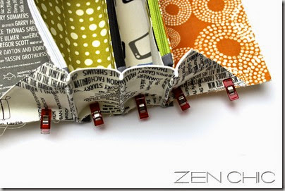 Sew together bag, Reel Tiem, Zen chic