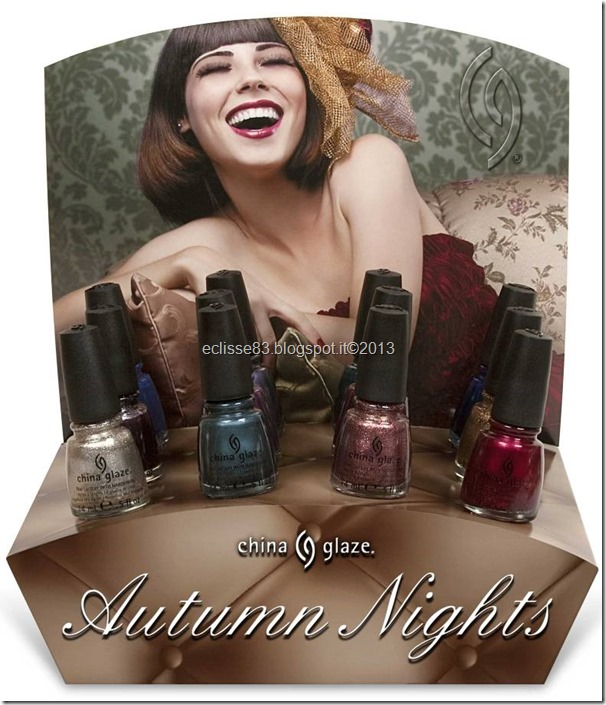 China Glaze Autumn Nights 2013