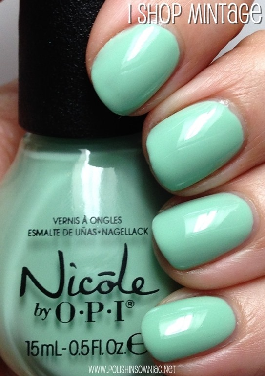 polish insomniac: Nicole by OPI ♥ New for 2014 Shades (Swatch SPAM)