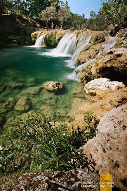 At Pangasinan's Bolinao Falls 2