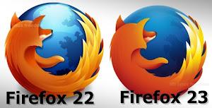 Firefox 23 nuovo logo