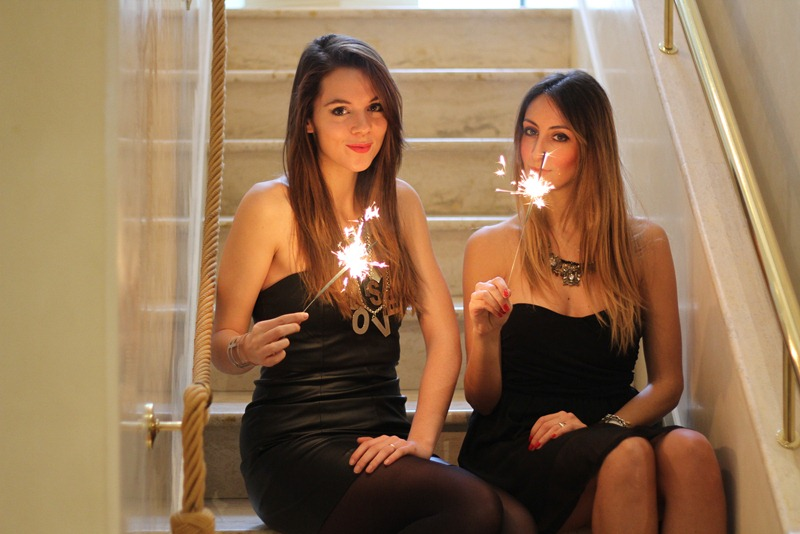 Capodanno, outfit per capodanno, come vestirsi a capodanno, come vestirsi per una festa, abiti da festa, Zara shoes, Zara bag, fashion blogger, Irene Colzi, Elisa Taviti, fashion blogger firenze, vestiti per le feste, vestitini corti, vestitini neri, vestito da discoteca, party dress, Tally Weijl dress, Irene' s Closet
