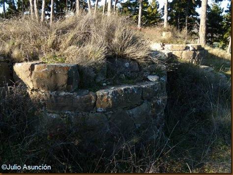 Castillo de Monreal - Baluartes de las esquinas